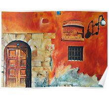 Egyptian Facade Poster