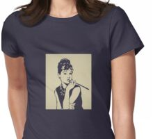 Beautifull Audrey 2 Womens Fitted T-Shirt