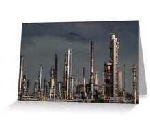 Factory 1 Greeting Card