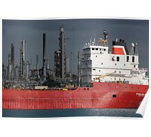 Freighter and Factory 6 Poster