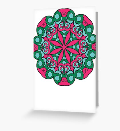 Mandala #2 Greeting Card