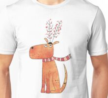 The Antler Hat Unisex T-Shirt