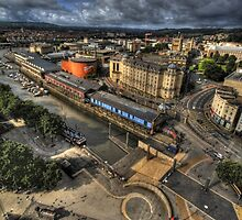 Over Bristol by billystygian