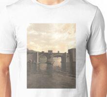 Old Medieval Bridge Unisex T-Shirt