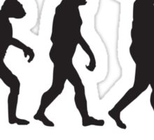 Evolution Of Manc Sticker