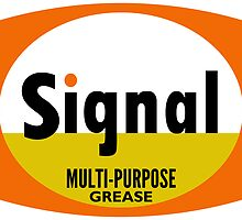 Signal Multi-Purpose Grease vintage sign by htrdesigns