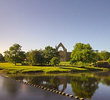 Bolton Abbey Nestled in the Yorkshire Dales on the banks of the River Wharfe by Spookydaz