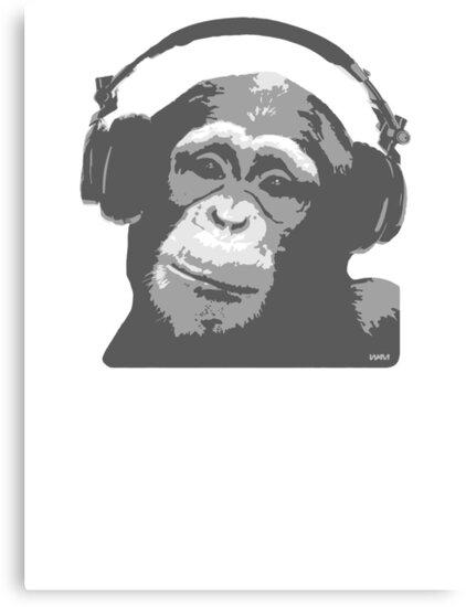 DJ MONKEY by WAMTEES