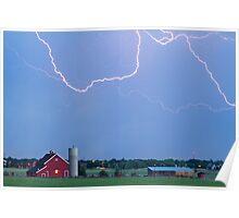C2C Red Barn Lightning Rodeo  Poster