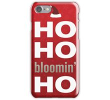 Ho ho iPhone Case/Skin
