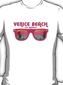Venice Beach Sunglasses reflect T-Shirt
