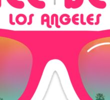 Venice Beach Sunglasses reflect Sticker