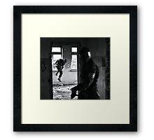 Paintball Piranha Framed Print