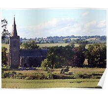 All Saints Church, Mackworth Poster