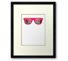 Sunglasses Framed Print