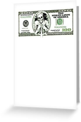 sarcastic 100 dollars bill by WAMTEES