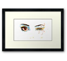 Eyes - 01 Framed Print