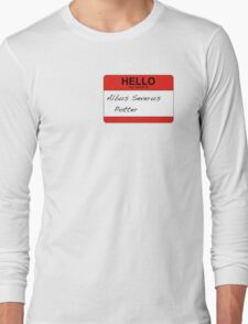 HELLO my name is...Albus Severus Potter! Long Sleeve T-Shirt
