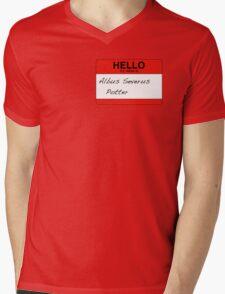 HELLO my name is...Albus Severus Potter! Mens V-Neck T-Shirt