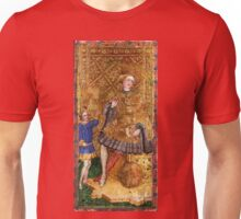 Medieval King painting Unisex T-Shirt