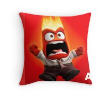 INSIDE OUT - ANGER 01 Throw Pillow
