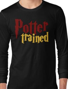 Potter Trained! Long Sleeve T-Shirt