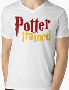 Potter Trained! Mens V-Neck T-Shirt