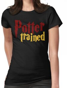 Potter Trained! Womens Fitted T-Shirt