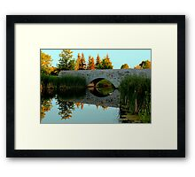A Touch of Autumn Framed Print