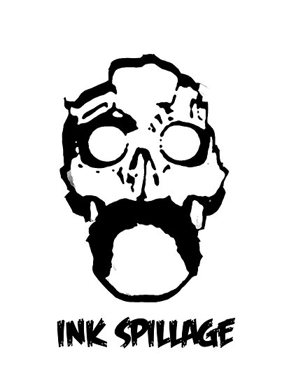 ink spillage poster by Joshua Roberts