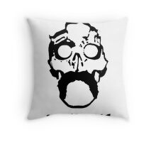 ink spillage poster Throw Pillow
