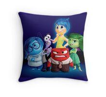 Inside Out - Team Throw Pillow