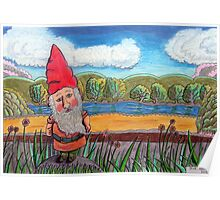 348 - THE GNOME - DAVE EDWARDS - COLOURED PENCILS - 2012 Poster