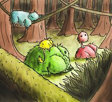 Fuskies in the Wood by JohnMcKeever