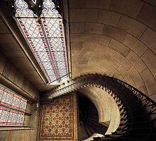 Don't look down! by Irina Chuckowree
