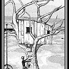 Castle In The Tree - A Childhood Dream by Glenn McCarthy