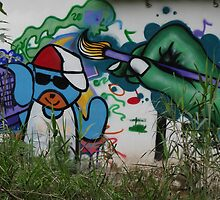 Anonym Green Painter - Anónimo Pintor Verde by Bernhard Matejka