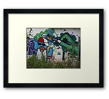 Anonym Green Painter - Anónimo Pintor Verde Framed Print