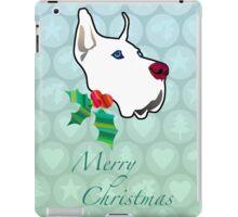 Holly dog iPad Case/Skin