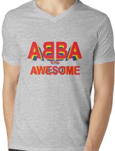 ABBA is still AWESOME Mens V-Neck T-Shirt