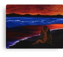 Twilight Lovers Canvas Print