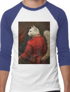 The Hermitage Court Chamber Herald Cat Men's Baseball ¾ T-Shirt