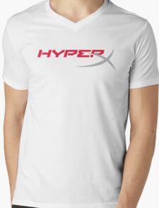 HyperX Logo Mens V-Neck T-Shirt