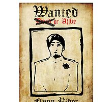 Tangled Flynn Rider Wanted  by RaveMaster