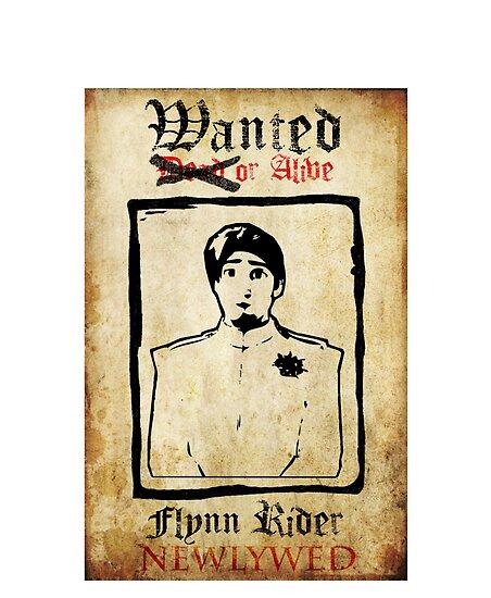 Tangled Flynn Rider Wanted  by RaveMaster
