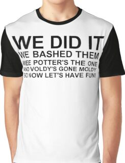Peeve's Song- A Harry Potter Victory Graphic T-Shirt