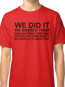 Peeve's Song- A Harry Potter Victory Classic T-Shirt