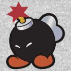 Mario - Black Bob omb - Adorable Warfare by carnivean