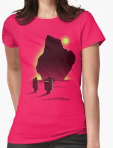 Bouldering Womens Fitted T-Shirt