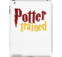 Potter Trained! iPad Case/Skin